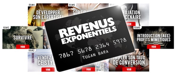 revenus exponentiels RX