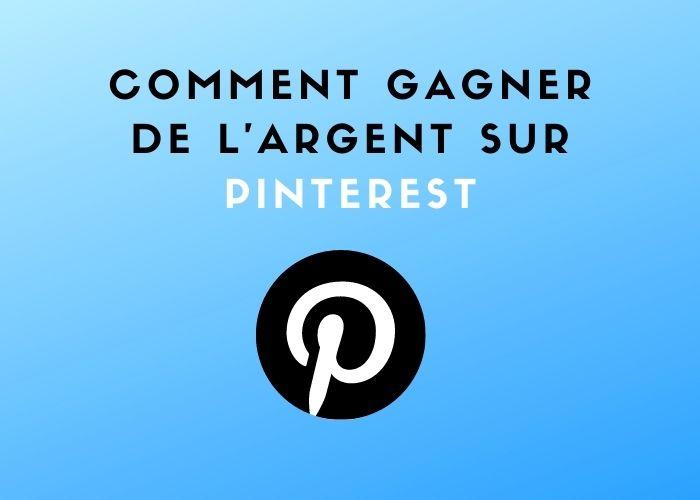 comment faire de l'argent sur Pinterest